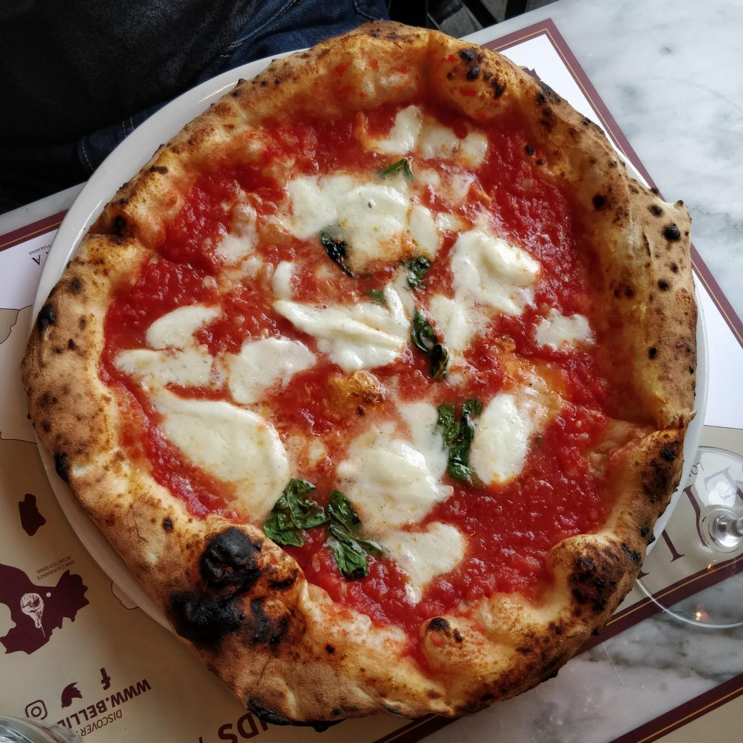 La Margherita di Bellillo, Londra