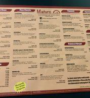 Menu (Pizzeria Maturo Lab a Terni(