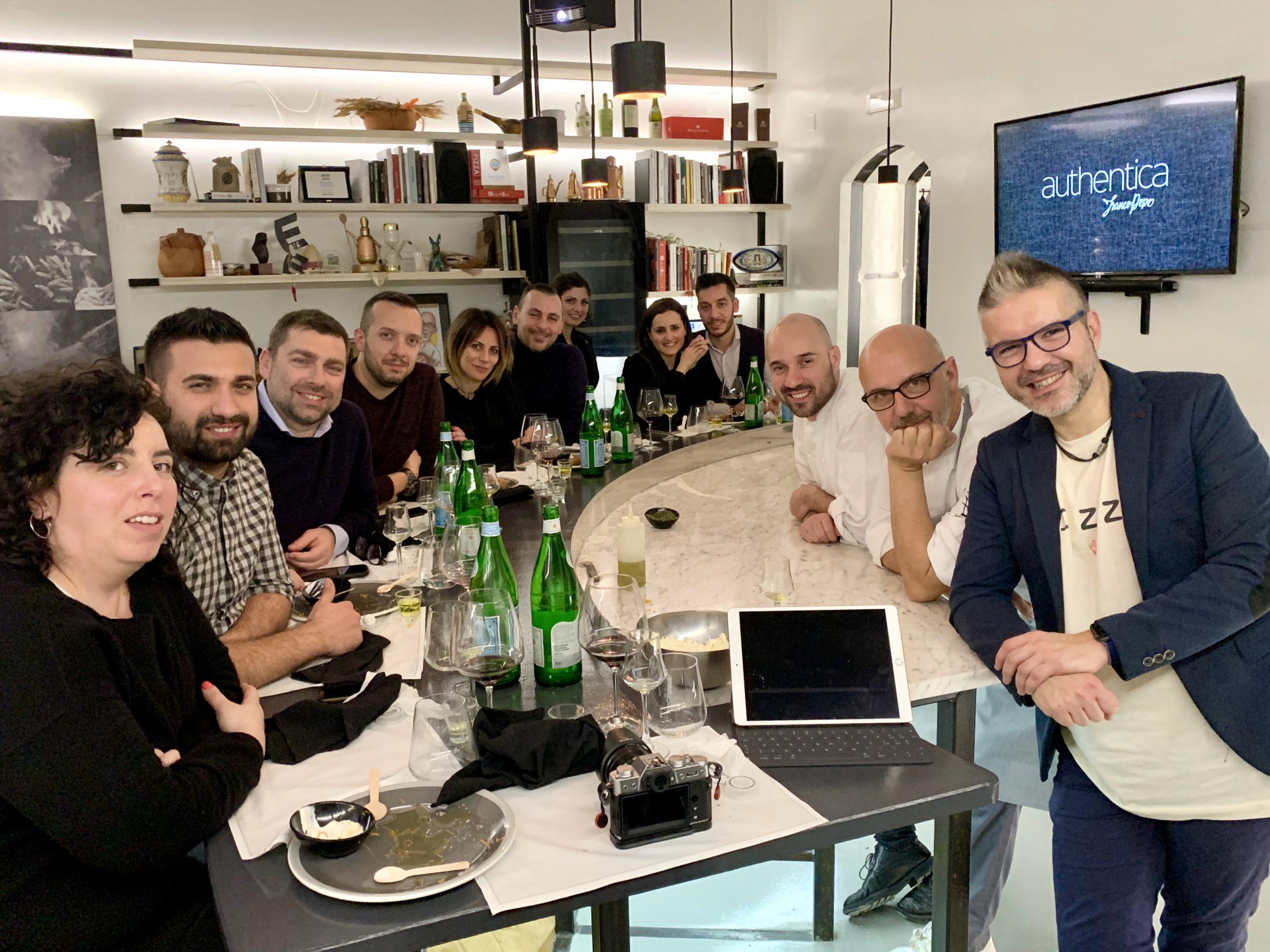 Authentica Stellata con Franco Pepe, Luciano Villlani, Antonio Fucito