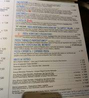 Menu 3 (Pizzeria Gino e Toto Sorbillo ai Tribunali, Napoli)