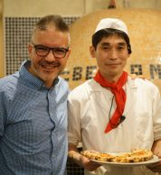 Con Tetsuya Ikeda (Pizzeria Bella Napoli)