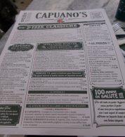 Il menu di Capuano's Pizzeria 7.0