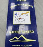 Il menu di Pizzeria Napoli Centro