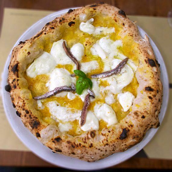 Una delle pizze provate presso Da Zero a Milano