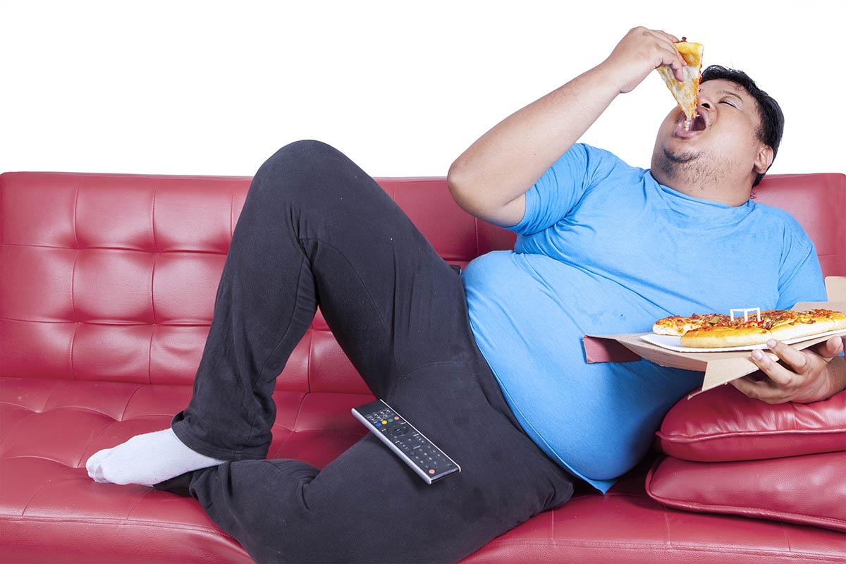 pizza e aumento peso