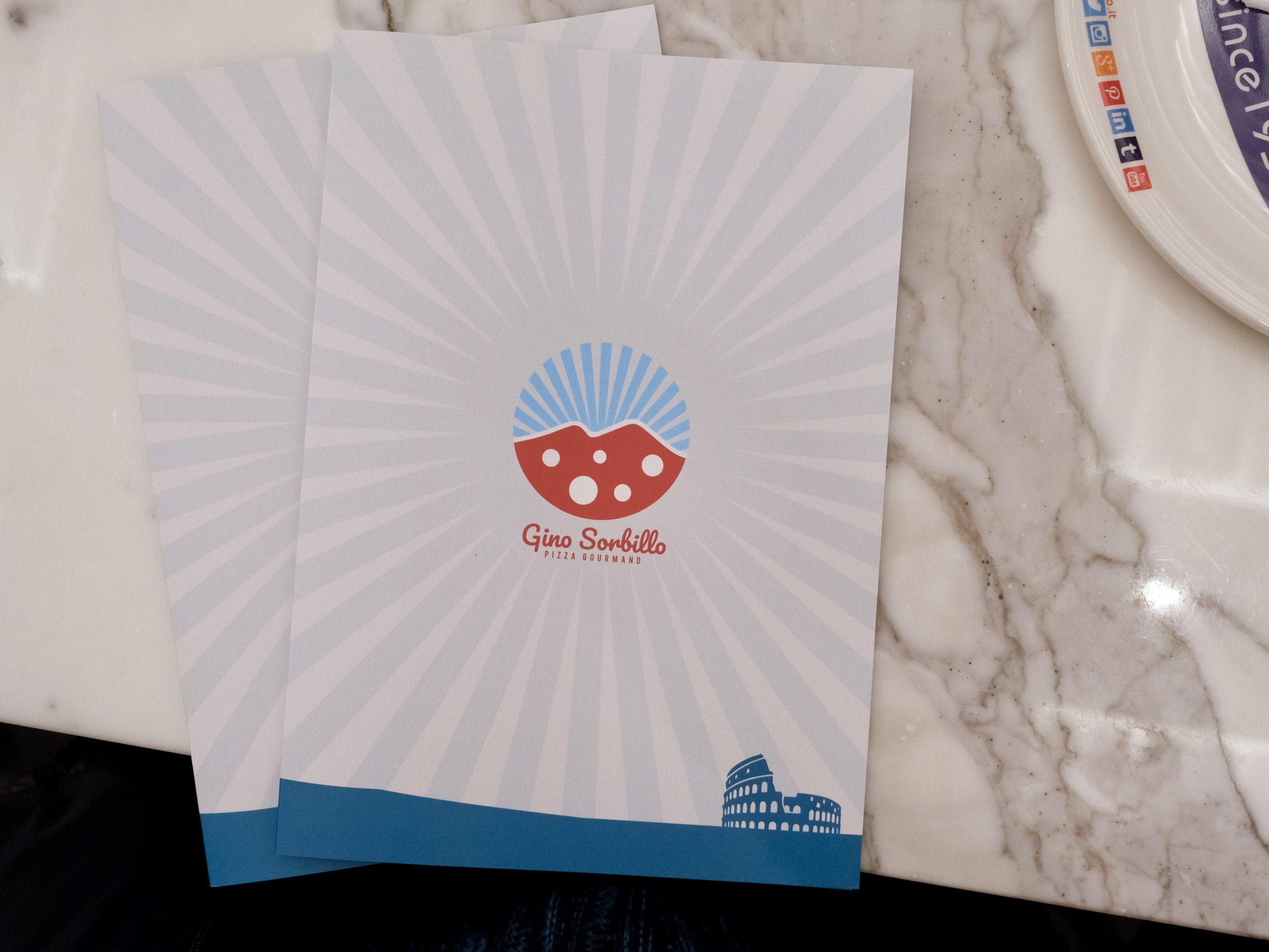Menu esterno (Gino Sorbillo Pizza Gourmand Roma)