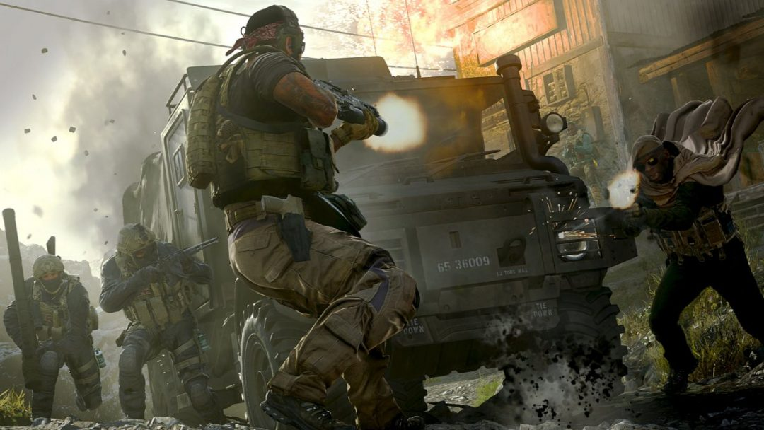 Una scena di Call of Duty