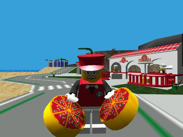 Pepper Roni Lego Island