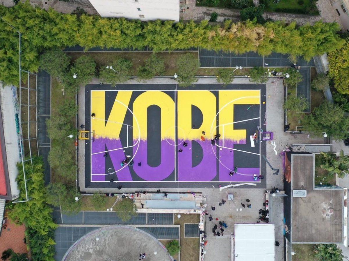 Il campetto di Montedonzelli in onore di Kobe Bryant