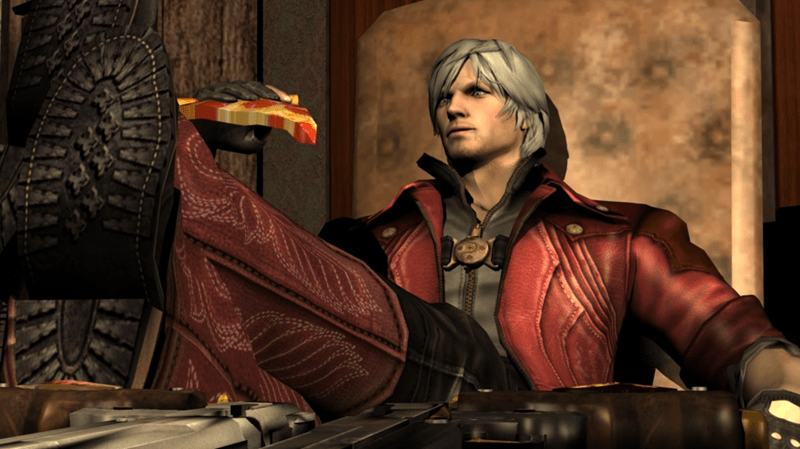 Devil May Cry 4 Pizza