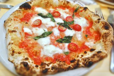 Pizza a forma di cuore per San Valentino