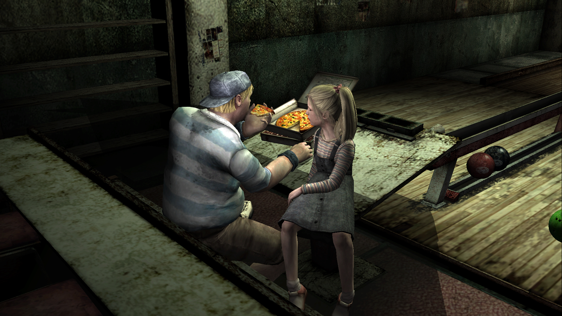 Pizza in Silent Hill 2