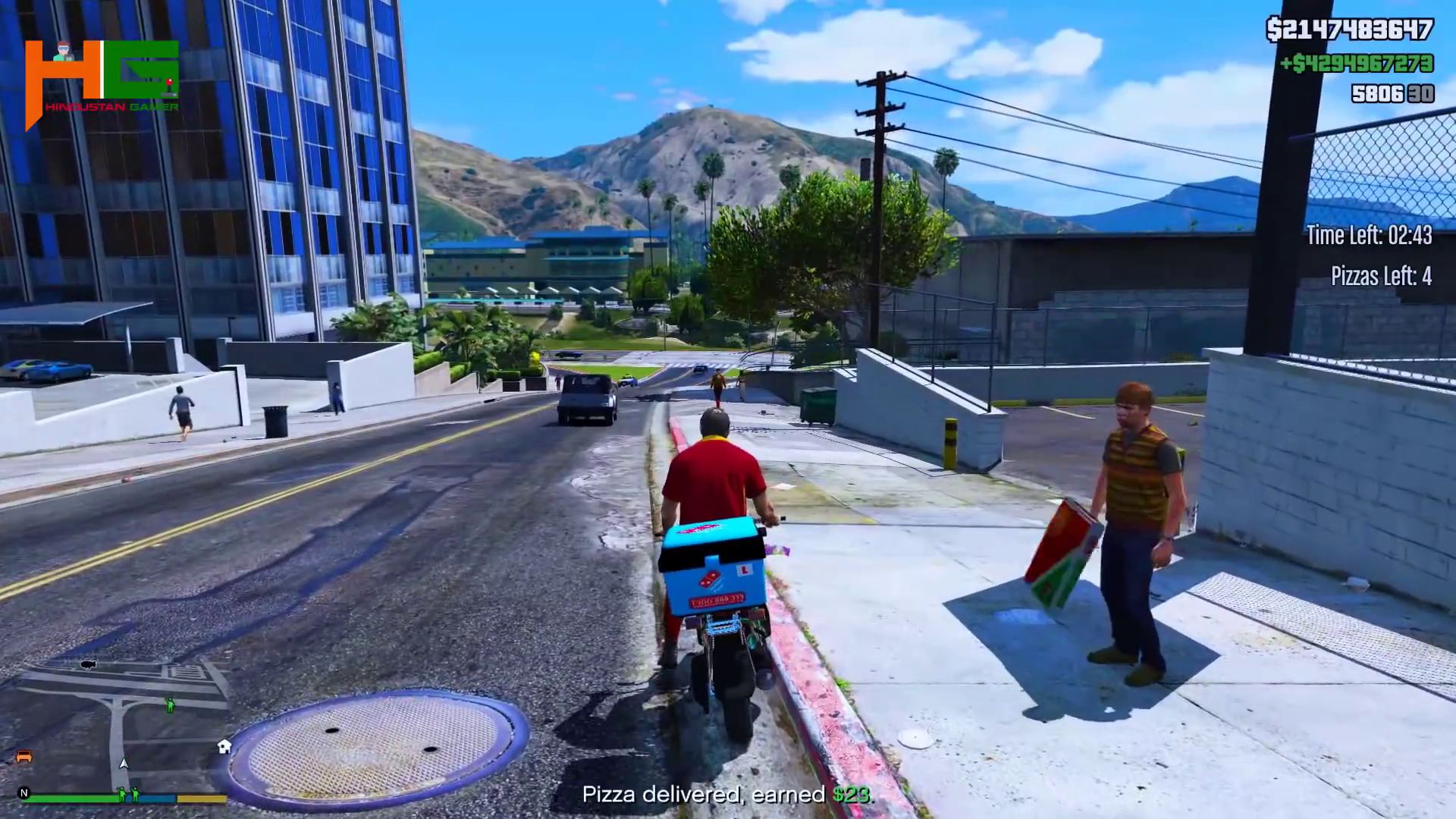 Trevor Pizza Boy in GTA 5