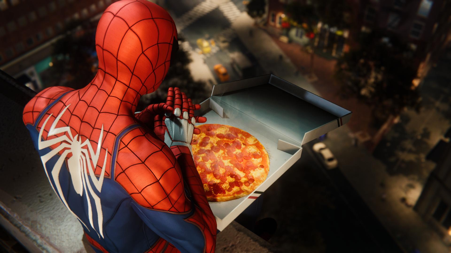 La Pizza in Spider-Man Miles Morales