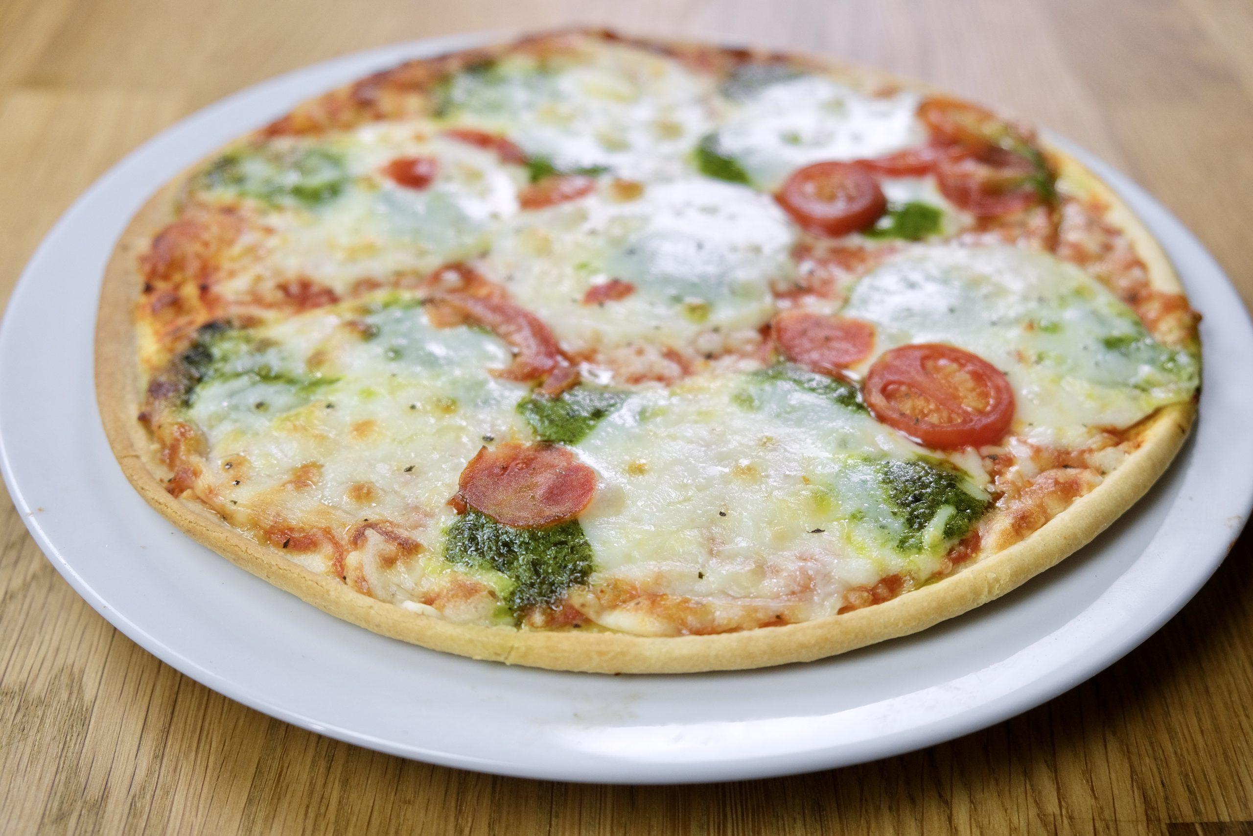 Dettaglio Ristorante Pizza al Pesto Sfizioso, Cameo