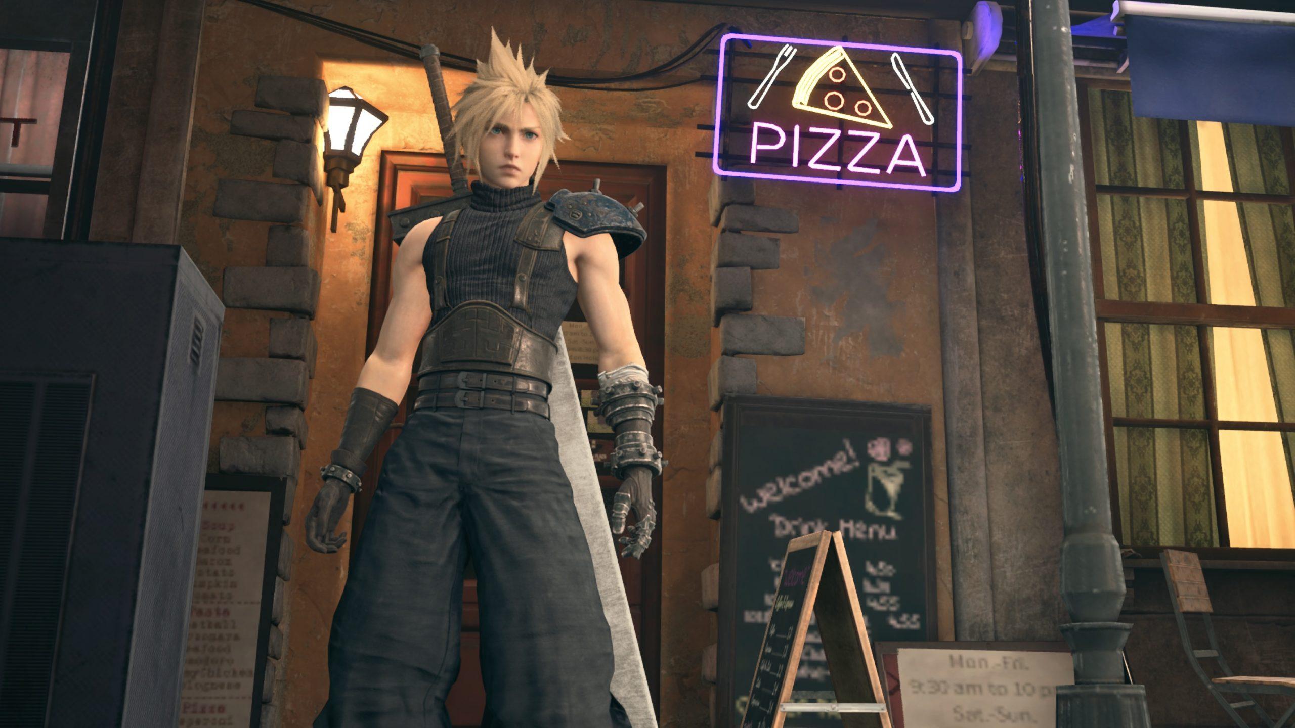 La Pizza in Final Fantasy VII Remake