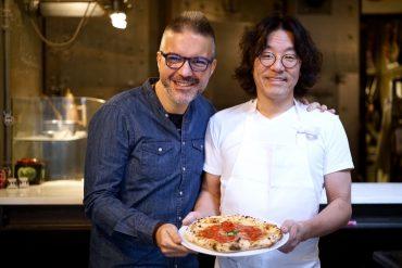 Susume Kakinuma di Seirinkan Tokyo con Antonio Fucito