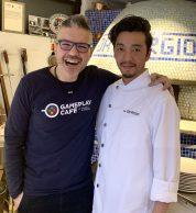 Antonio Fucito e Giorgio (pizzeria da GIORGIO Tokyo)