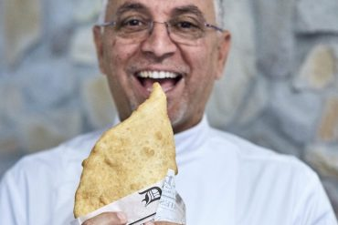 Enzo Coccia e la sua pizza fritta