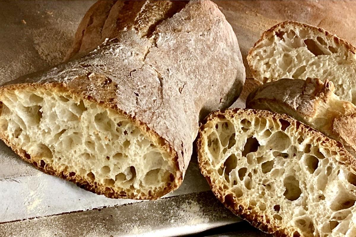 Pane fatto col Lievito Madre Licoli