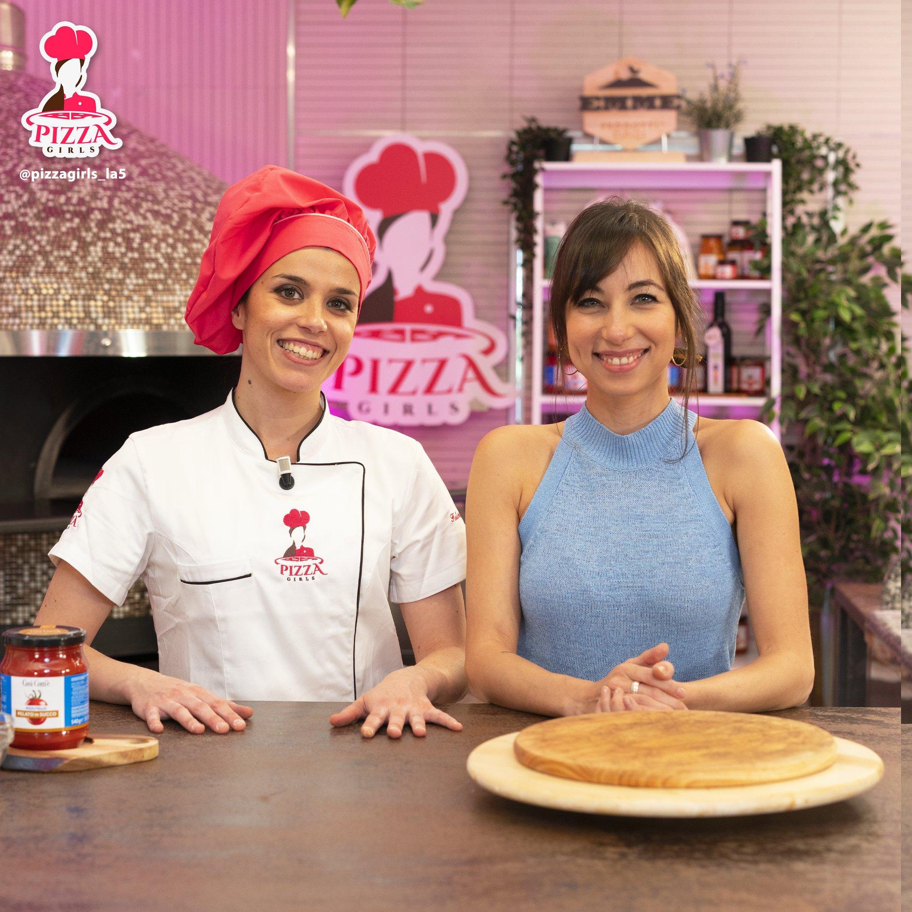 Federica Mignacca e Tess Masazza (Pizza Girls)