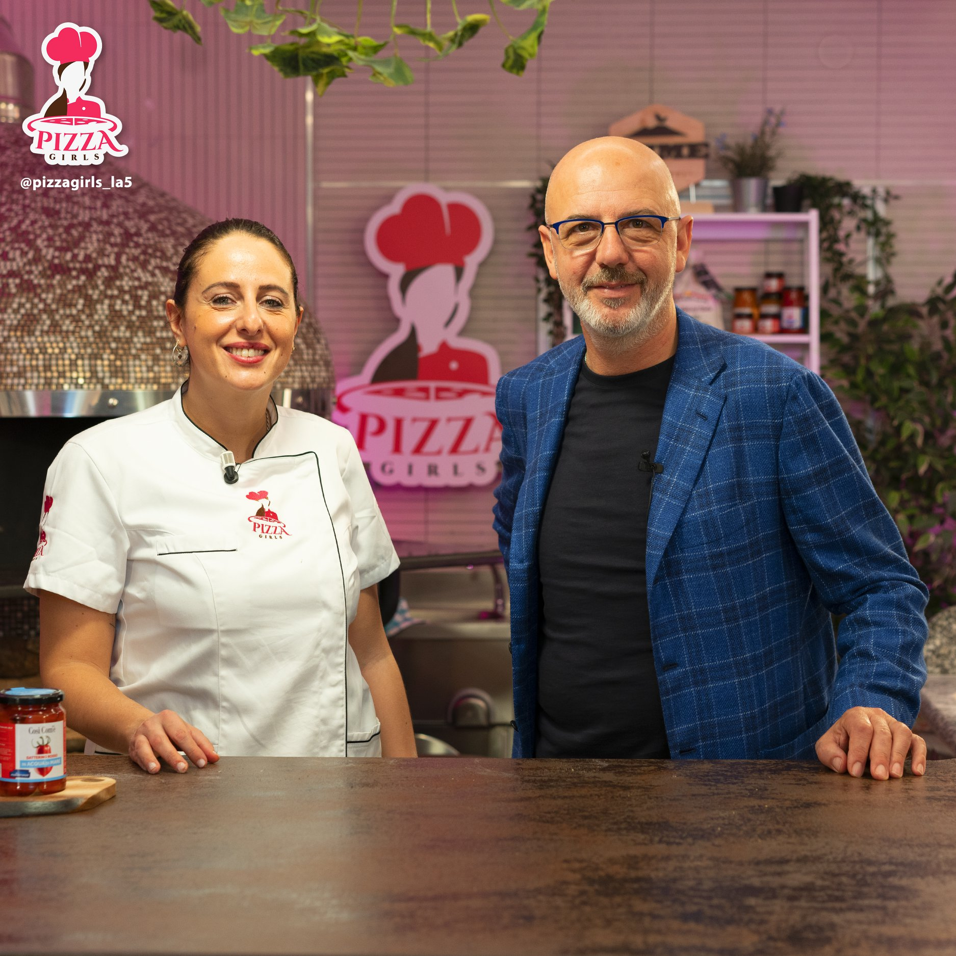 Roberta Esposito e Franco Pepe (Pizza Girls)