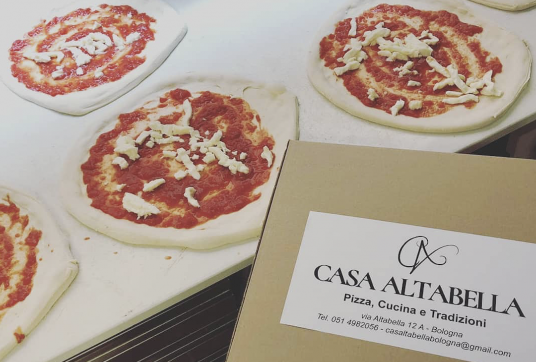 Casa Altabella pizza