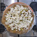 Base pizza L'orto con mozzarella e asparagi verdi (I Tigli, Verona)