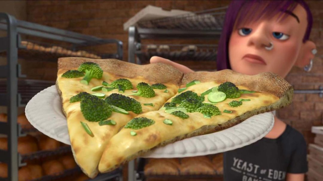 Pizza coi broccoli: l'orrore di Inside Out
