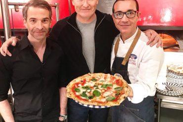 Conan O'Brien: la pizza napoletana è un'esperienza divina