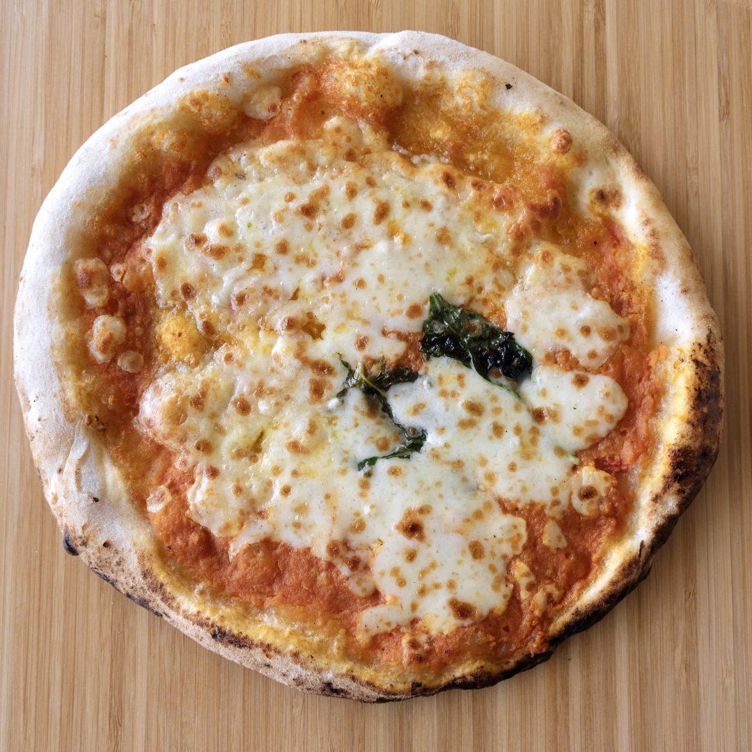 Margherita senza glutine cotta (A' Pizza)