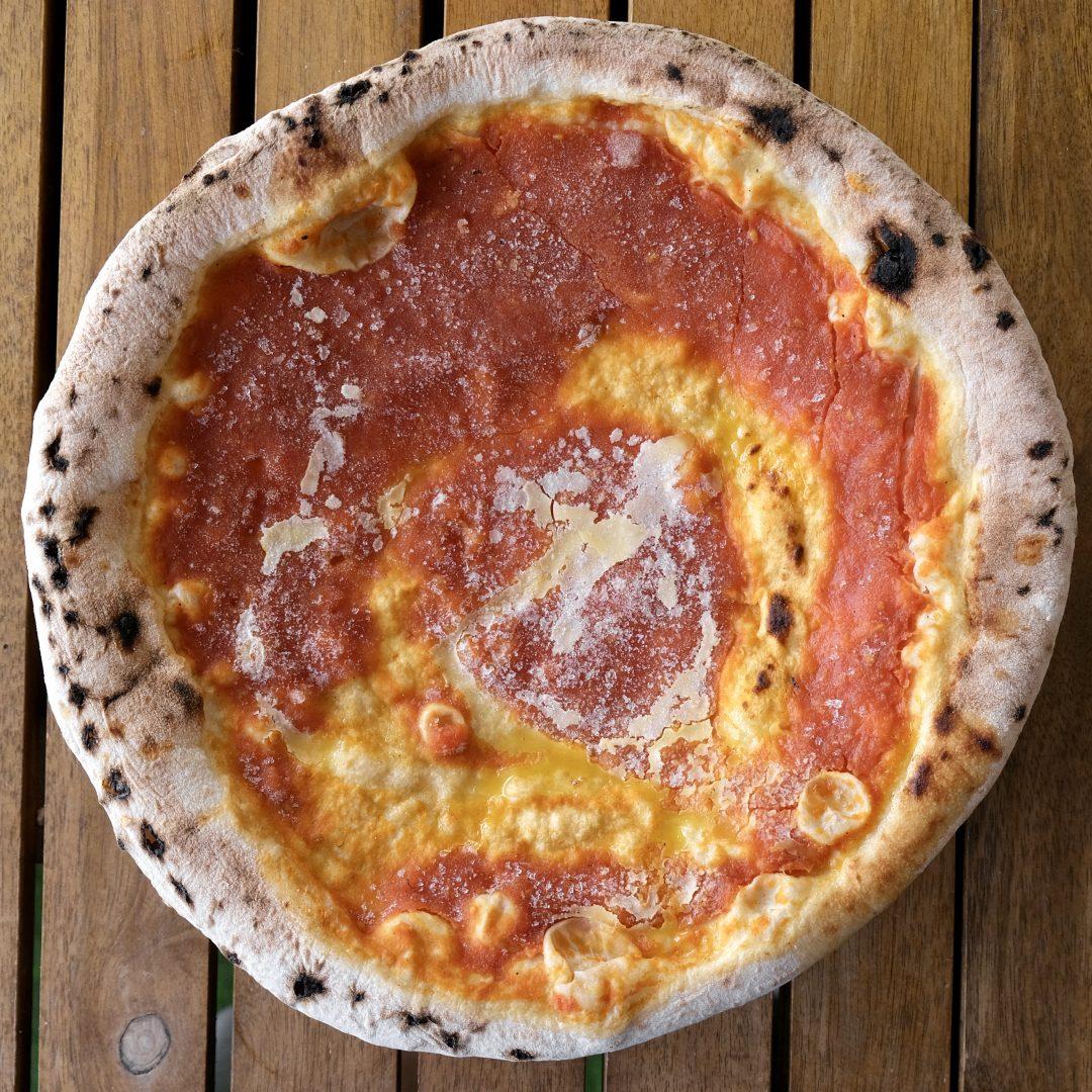 Pizza Olio e Pomodoro congelata (A' Pizza)