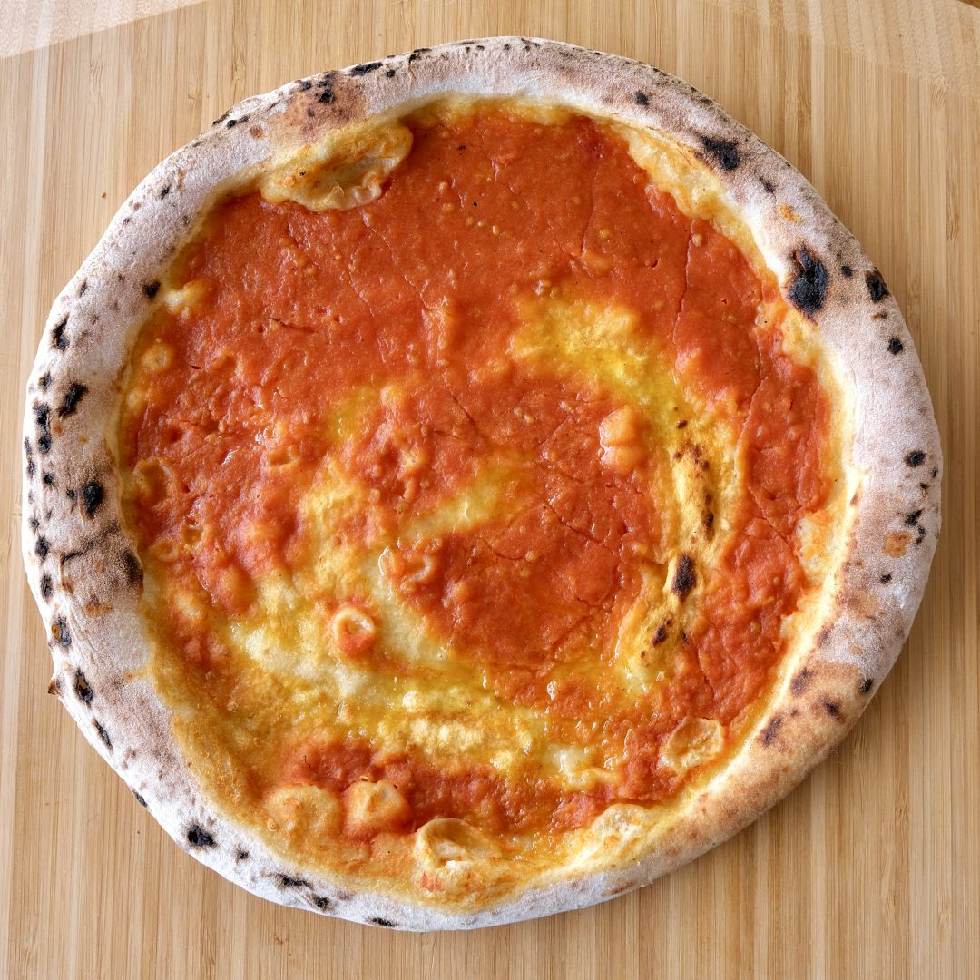 Pizza Olio e Pomodoro cotta (A' Pizza)