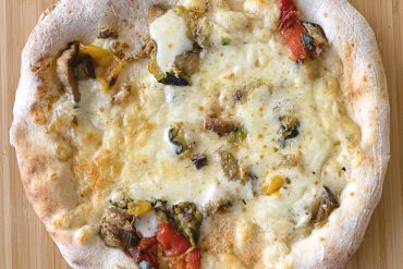 Pizza Vegetariana cotta ('A Pizza)