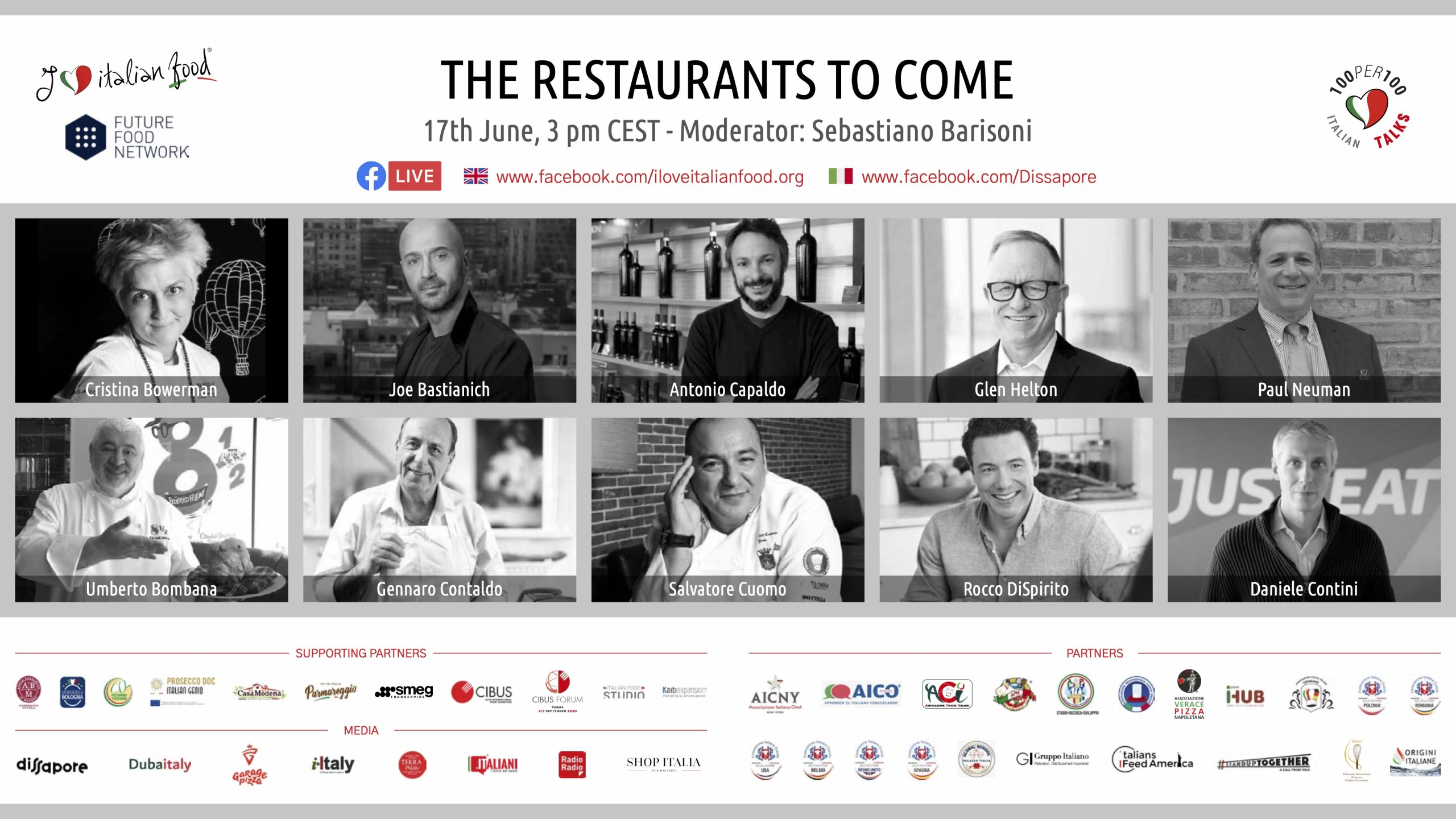 The Restaurants to Come: June 17, live on Facebook