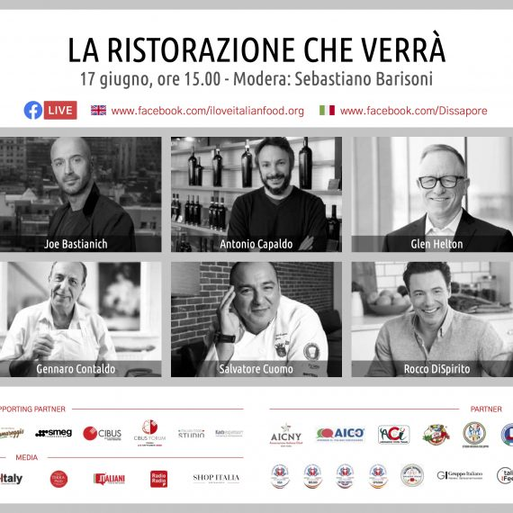 La ristorazione che verrà: il 17 giugno in diretta con 100per100 Italian Talks