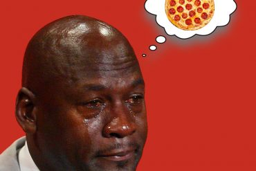 Michael Jorda e la pizza avariata