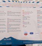 Menu febbraio 2020 (Pizzeria Gino Sorbillo Gourmand Centro Storico, Roma)