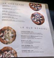 Menu febbraio 2020 (Pizzeria Illuminati Seu Monte Verde, Roma)