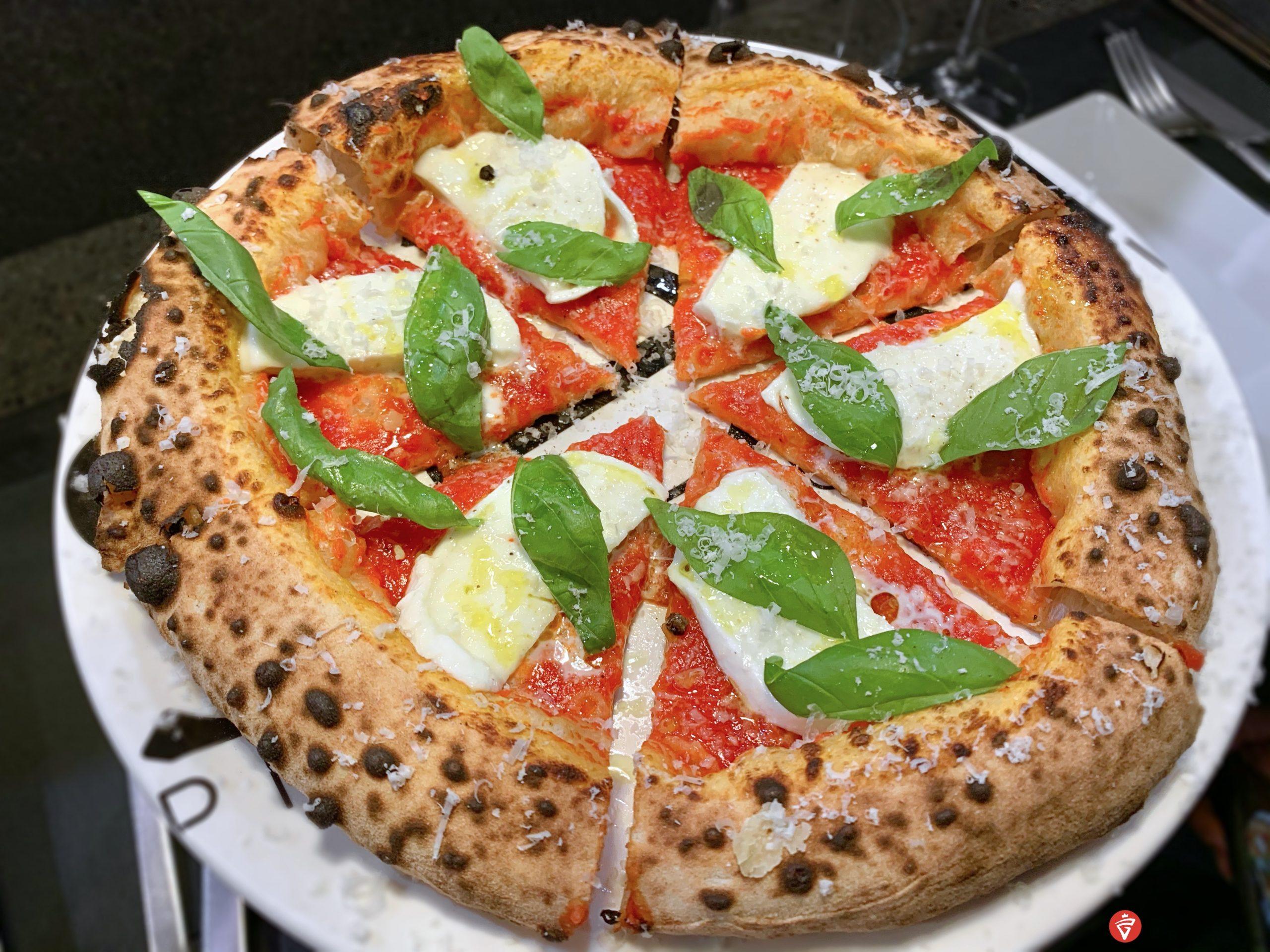 Margherita (Pizzeria Illuminati Seu Monte Verde, Roma)