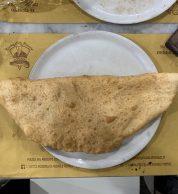 Pizza fritta (Antica Pizzeria Da Michele, Firenze)