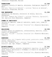 Menu2 settembre 2020 (pizzeria IQuintili Tuscolano, Roma)