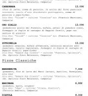 Menu3 settembre 2020 (pizzeria IQuintili Tuscolano, Roma)