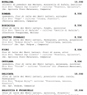 Menu4 settembre 2020 (pizzeria IQuintili Tuscolano, Roma)