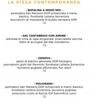 Menu3 settembre 2020 (Pizzeria Da Andrea, Perugia)