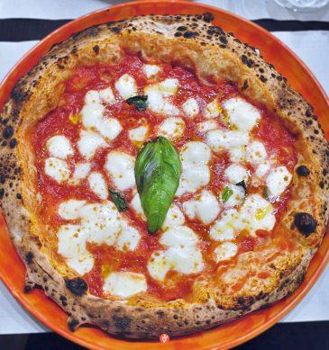 Margherita (Pizzeria La Napoletana 2.0, Siena)