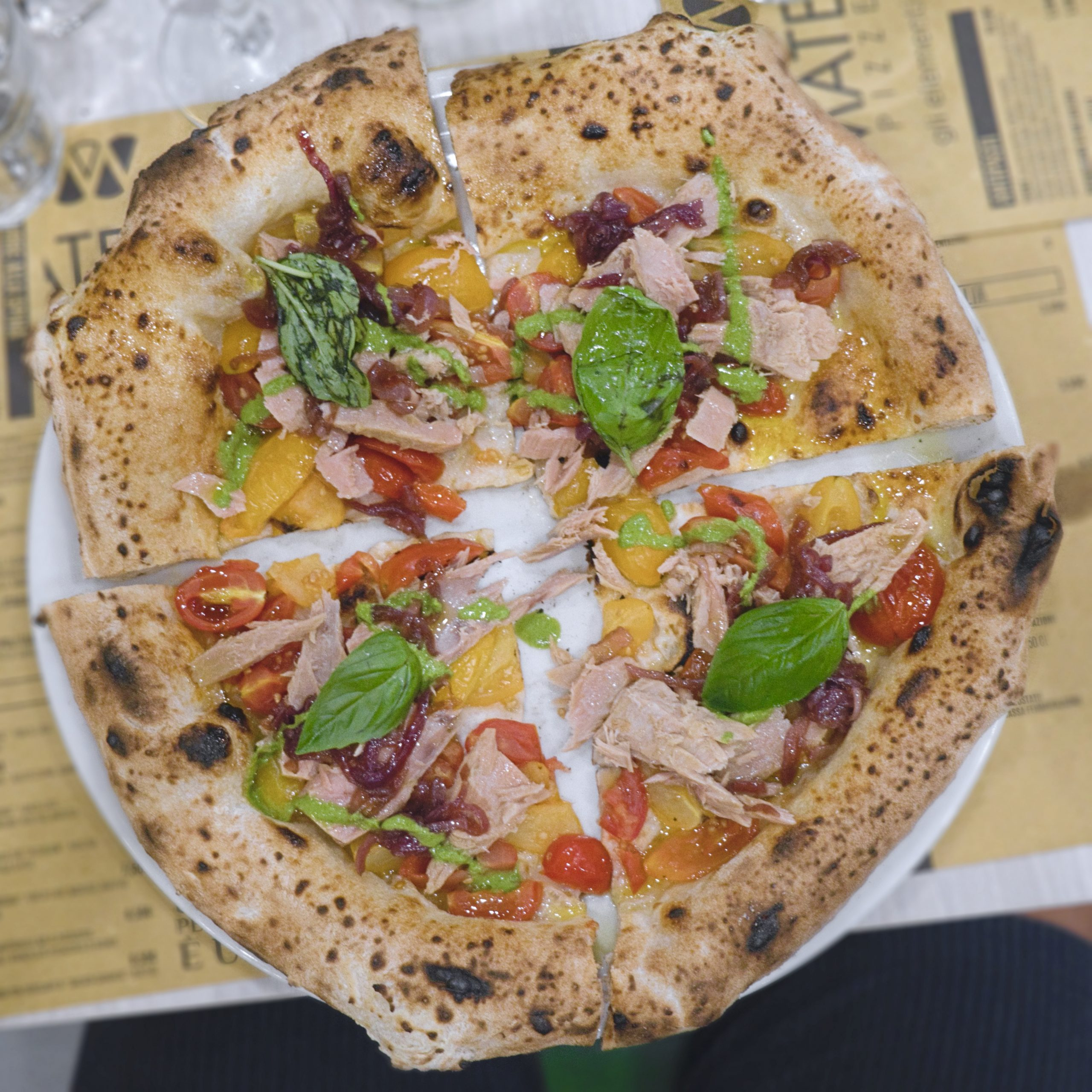 Mediterranea (Pizzeria Materia, Cellole, Caserta)
