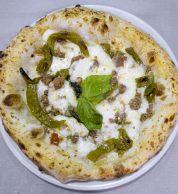 Salsiccia (Pizzeria La Spiga, Pignataro Maggiore, Caserta)