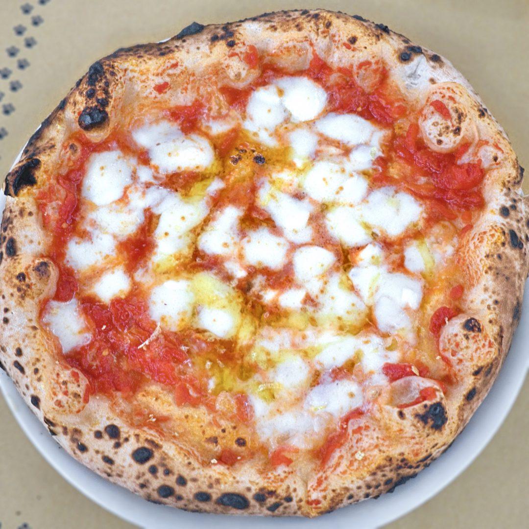 Margherita Hop Hop (Pizzeria La Gatta Mangiona, Monte Verde, Roma)