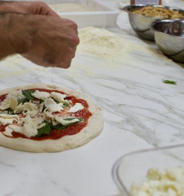 Preparazione (Pizzeria Marghe, P.ta Romana M3, Milano)